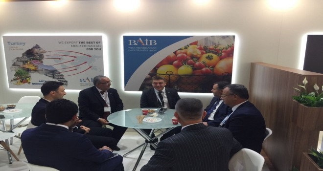 BAİB, World Food Moscow Fuarın'da