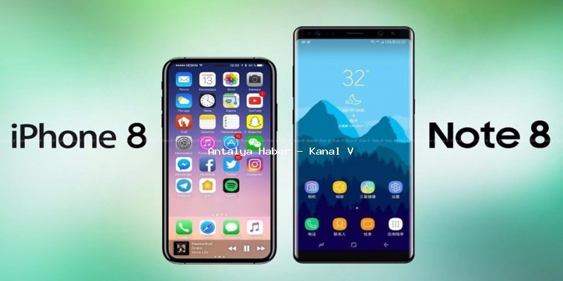 Galaxy Note 8 İphone X'e Karşı!